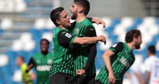 VIDEO – Gli highlights di Sassuolo-Atalanta 1-1