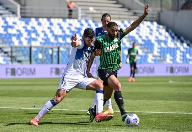 sassuolo-atalanta 1-1 statistiche numeri defrel