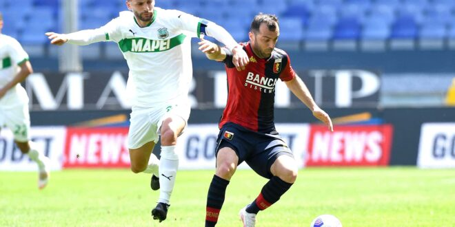 highlights genoa-sassuolo 1-2