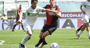 Genoa-Sassuolo 1-2