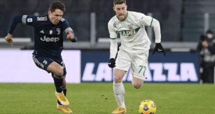 DIRETTA Sassuolo-Juventus: le formazioni ufficiali