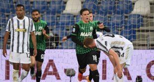 I numeri di Sassuolo-Juventus 1-3: il Sassuolo gioca, ma a vincere è la Juve