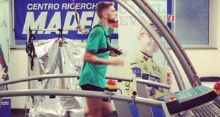 Domenico Berardi è tornato: l'attaccante si sottopone ai test Mapei
