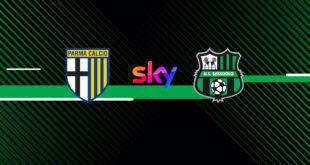 L'amichevole tra Parma e Sassuolo sarà trasmessa su Sky Sport Calcio