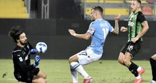 highlights lazio sassuolo 1-1