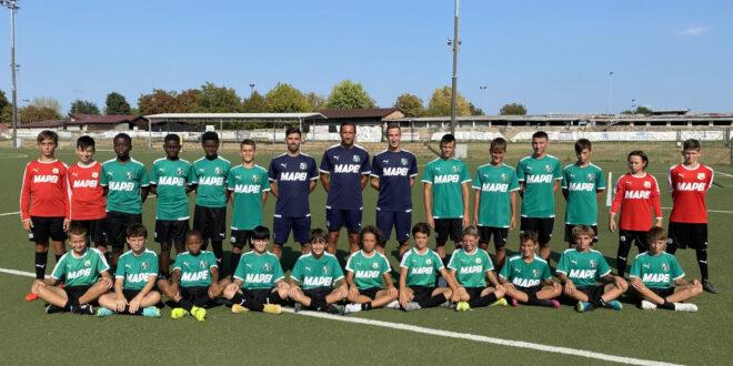 Sassuolo Under 13: la squadra A batte il Modena, KO la squadra B col Piacenza