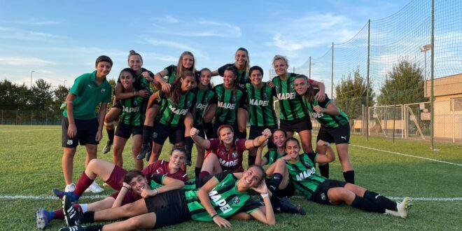 Sassuolo Primavera Femminile: 5-0 al Cittadella nell'ultima amichevole precampionato