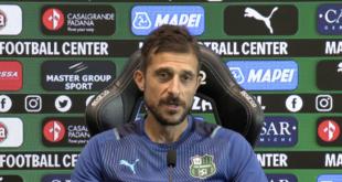 """Sassuolo-Torino, Alessio Dionisi: """"Non possiamo accontentarci di buone prestazioni, serve il risultato"""""""