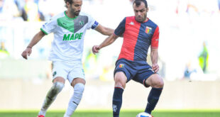 TABELLINO di Genoa-Sassuolo 2-2