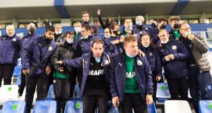 Sassuolo-Venezia, tra i tifosi anche i ragazzi del Sanpro Special